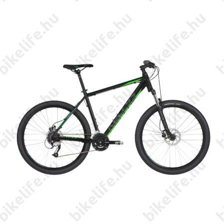 """Kellys Madman 50 Black Green 2019 27,5""""-os MTB kerékpár 24f. Altus váltó, hidr. tárcsafék, 19,5"""""""
