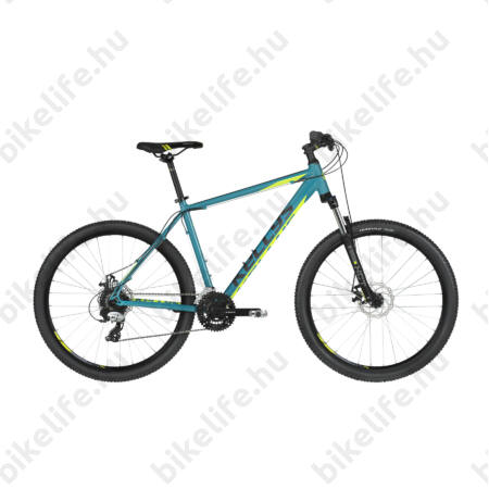 """Kellys Madman 30 Turquise 2019 27,5""""-os MTB kerékpár 24f. Altus váltó, mech. tárcsafék, 19,5"""""""
