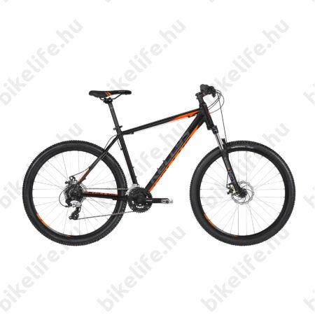 """Kellys Madman 30 Black 2019 27,5""""-os MTB kerékpár 24f. Altus váltó, mech. tárcsafék, 19,5"""""""
