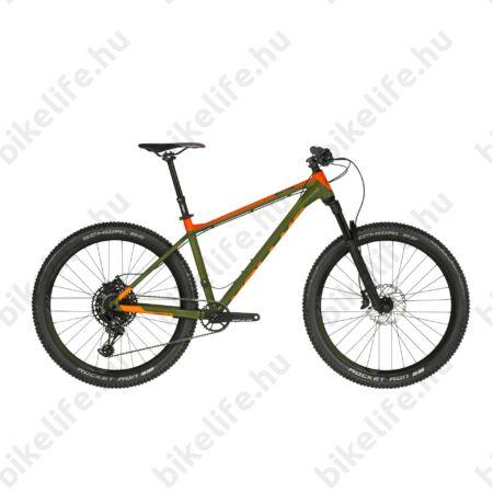 """Kellys Gibon 70 2019 27,5"""" PLUS MTB kerékpár 12fok. Sram NX Eagle váltó, RS teleszkóp, S"""