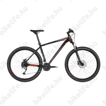 """Kellys Spider 50 2019 27,5""""-os MTB kerékpár 27fok. Shimano Acera váltó, tárcsafék, Orange 21,5"""""""