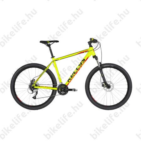 """Kellys Madman 50 Neon Lime 2019 27,5""""-os MTB kerékpár 24f. Altus váltó, hidr. tárcsafék, 15,5"""""""