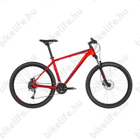 """Kellys Spider 30 2019 27,5""""-os MTB kerékpár 24fok. Shimano Acera váltó, tárcsafék, Red 21,5"""""""