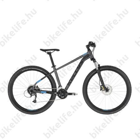 """Kellys Spider 70 Black 27,5""""-os MTB kerékpár 27 fokozatú Altus, Shimano hidr. tárcsafék, S/17,5"""""""