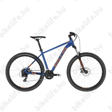 """Kellys Spider 30 Blue 27,5""""-os MTB kerékpár 24 fokozatú TX800 váltó, Mech. tárcsafék, S/17,5"""