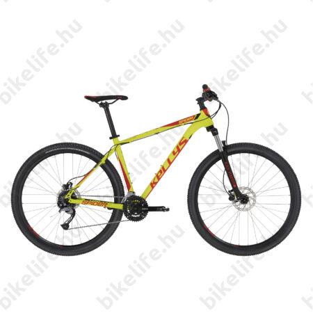"""Kellys Spider 30 Lime 27,5"""" MTB kerékpár 24 fok. Acera váltó, hidr. tárcsafék, SR villa, 19,5"""""""