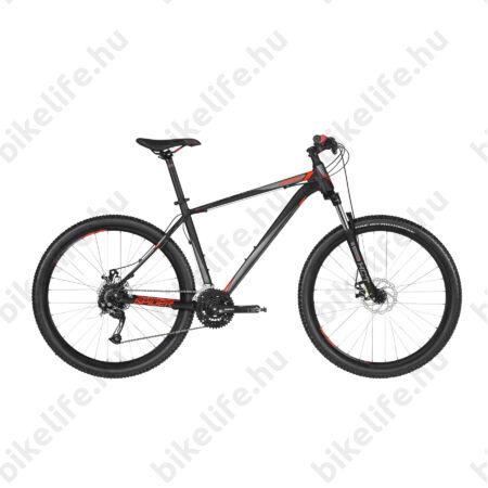 """Kellys Spider 10 2019 27,5""""-os MTB kerékpár 24fok. Shimano Acera váltó, mech.tárcsafék, Black 15,5"""""""