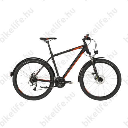 """Kellys Madman 60 2019 27,5""""-os MTB kerékpár 24fok. Shimano Altus váltó, sárvédő, agydin., 17,5"""""""