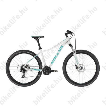 """Kellys Vanity 30 White női 27,5"""" MTB kerékpár 24 fokozat Shimano TX800 váltó, Mechanikus Dics 17""""/M"""