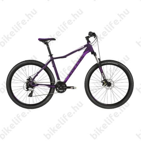 """Kellys Vanity 30 2019 27,5""""-os női MTB kerékpár 3x8 fok. TY800 váltó, mech. tárcsafék, 15"""""""