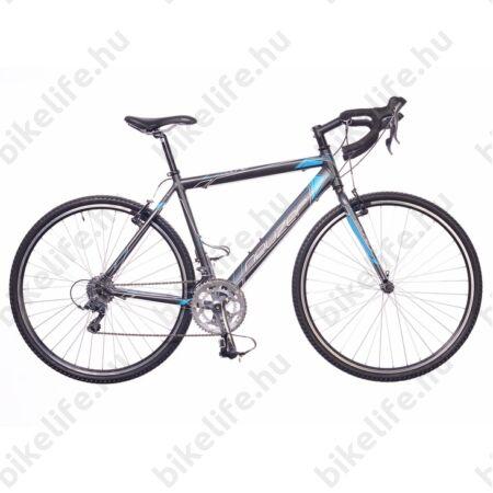 Neuzer Courier CX ciklokrossz kerékpár Claris antracit/kék matt 54cm