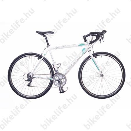 Neuzer Courier CX ciklokrossz kerékpár Claris fehér 54cm