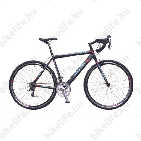 Neuzer Courier CX ciklokrossz kerékpár Claris fekete/türkiz-piros matt 56cm