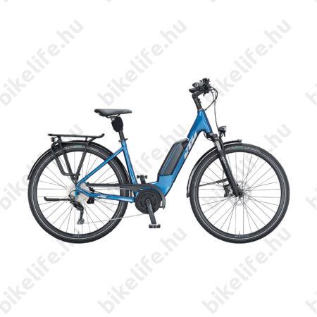 KTM Macina Fun P510 elektromos kerékpár Bosch Performance Line meghajtás monováz, kék, 43cm