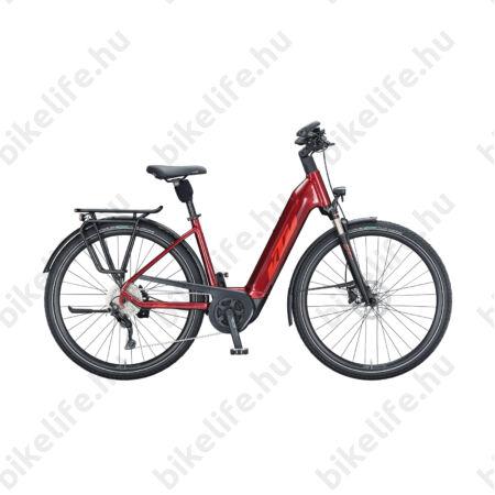 KTM Macina Tour P610 elektromos kerékpár Bosch Performance Line meghajtás monováz, dark red, 43cm