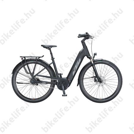 KTM Macina City A510 Ebike Bosch Active Plus meghajtás női monováz, matt fekete, 43cm