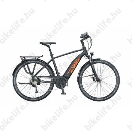 KTM Macina Fun A510 elektromos kerékpár Bosch Active Line meghajtás monováz, matt fekete, 43cm