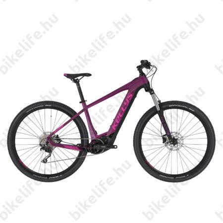 "Kellys Tayen 20 Purple Ebike/Pedelec 29""  MTB Shimano Steps SW-E7000 motor 10 fokozatú Deore váltó, 47cm"