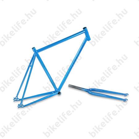 Váz országúti Csepel Royal 3* + villa acél, kék, 51cm