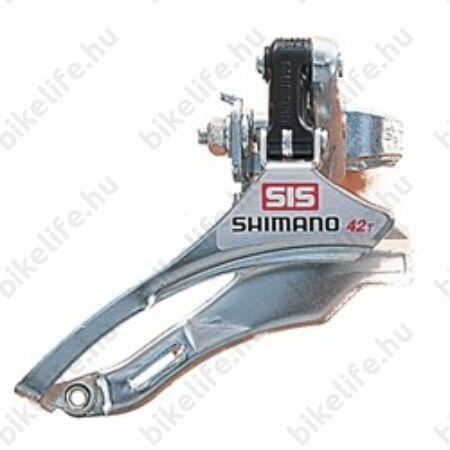 Váltó első Shimano TY10 31,8mm FH 42foghoz pozícionált