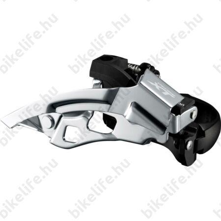 Shimano Deore XT T8000 első váltó, alsó-felső húzású, 34,9mm, 44/48 foghoz 10-es