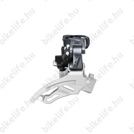 Shimano Alivio FD-M4000 első váltó Downswing alul-felül húzós, 31,8/34,9mm 40 foghoz