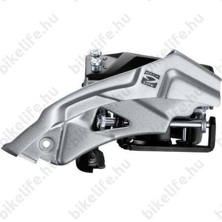 Váltó első Shimano Altus M2000 alsó bilincses, AH-FH, topswing, 40 foghoz