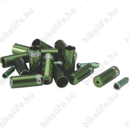 BBB BCB-99 CableCap bowdenház kupak szett 6db 5mm-es, 10 db 4mm-es, 4db alu vég, zöld