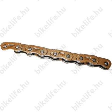 Sunrace CNX46 BMX lánc, könnyített, asszimetrikus
