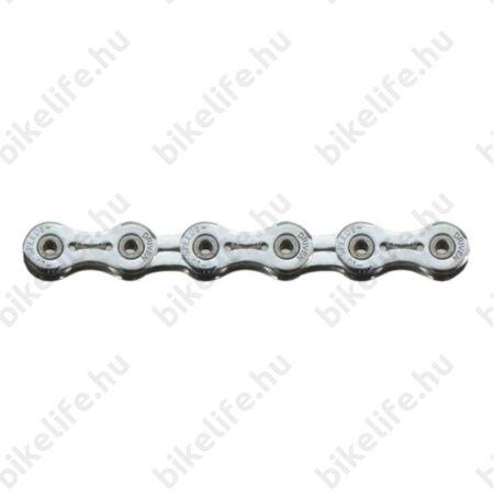 Sunrace CNM9X 9 sebességes lánc, króm, üreges csapos, könnyített láncszemek