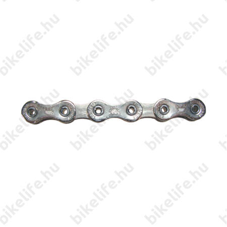 Sunrace CNR10 10 sebességes lánc, ezüst, üreges csapos