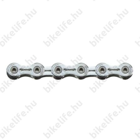 Sunrace CNR1X 10 sebességes lánc, króm, üreges csapos, könnyített láncszemek