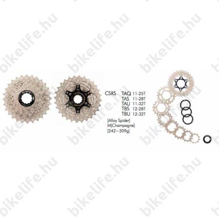 Sunrace RS 10 sebességes fogaskoszorú 11-28-as fogszám, szatén, CSRSTAS