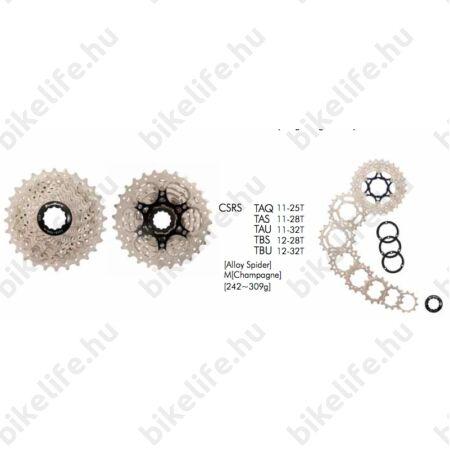 Sunrace RS 10 sebességes fogaskoszorú 11-25-ös fogszám, pezsgő, CSRSTAQ