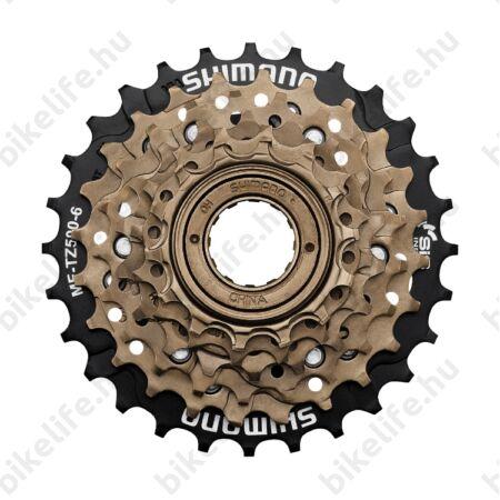 Shimano MF-TZ500 6-os racsni 14-28-as fogszám barna/fekete - ömlesztett