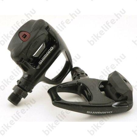 Shimano PD-R540 SPD-SL rendszerű országúti patentpedál (szérián kívüli 105-ös szintű), fekete
