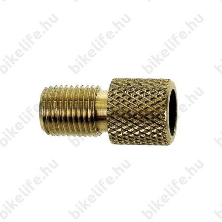 Szelepátalakító menetes gumitömítéssel szingó és Dunlop szelephez