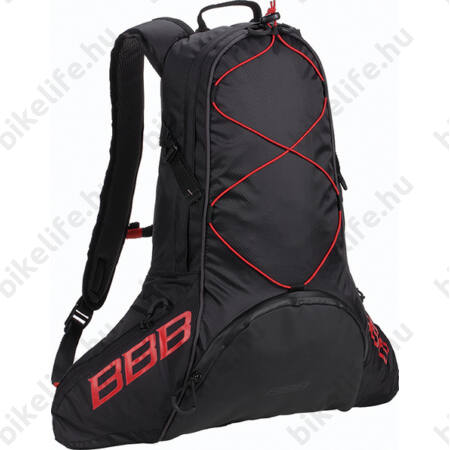 BBB BSB-101 MaraTour kerékpáros hátizsák 12l fekete piros - Hátizsákok 74851d8965