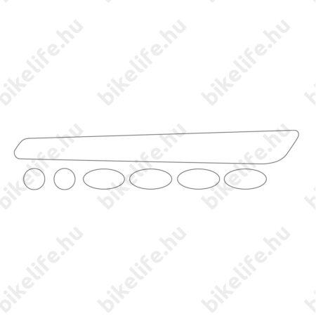 BBB BBP-50 BikeSkin vázvédő matrica készlet átlátszó matrica