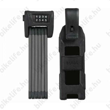 Zár Összehajtható Abus Bordo Combo 6100/90, fekete, számkombinációs