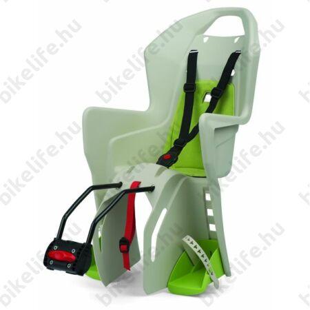 Polisport Koolah gyerekülés hátsó vázra krém/zöld