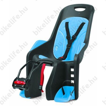 Polisport Bubbly Maxi gyerekülés hátsó vázra, szürke/kék