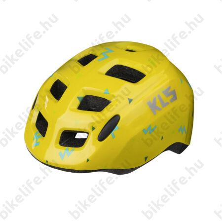 Kellys KLS ZigZag kerékpáros gyereksisak yellow XS 45-50cm