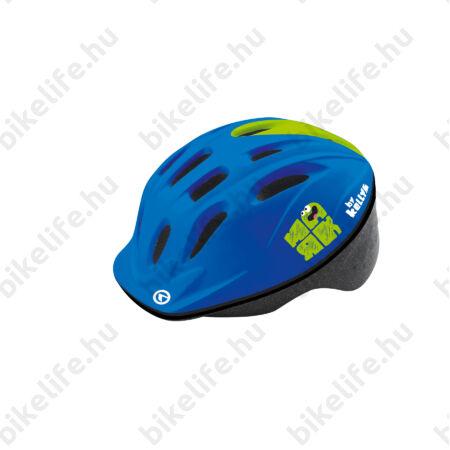 Kellys KLS Mark 2018 kerékpáros gyereksisak kék-zöld S/M 50-53cm
