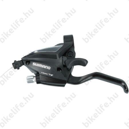Váltó/fékkar MTB Altus EF500 bal 3-as fekete