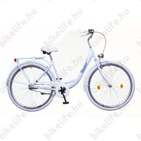 Neuzer Balaton Premium kontrás 26-os city kerékpár babyblue/kék/barna