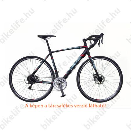 Neuzer Courier CX ciklokrossz kerékpár Claris fekete/türkiz-piros matt 46cm