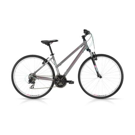 """Kellys Clea 10 2016 női cross kerékpár 21sebességes EF51/TX35 váltó, Grey 17"""""""