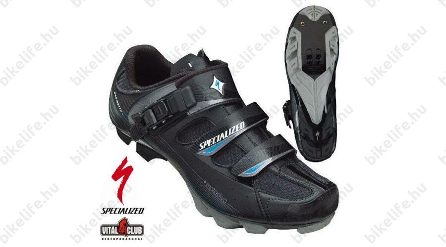 88753793fa Specialized Motodiva női MTB kerékpáros cipő 36-os csatos, fekete ...