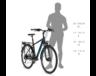 """Kellys Carson 10 Black férfi trekking kerékpár 21 fokozatú Shimano TY300 váltó, V-fék, S/17"""""""